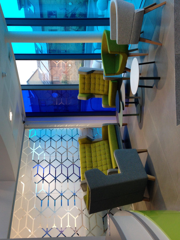 Foyer Office Uk : Open office foyer liz creates